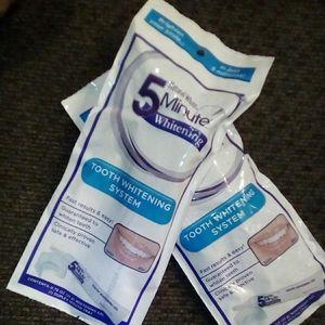 2 5 minute teeth whitening kit